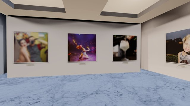 Instamuseum for @mauricedelanuit 3D Model