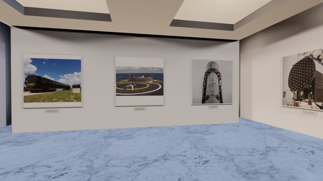 Instamuseum for @spacex 3D Model