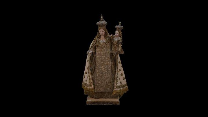 Madonna Del Carmine Campolieto (CB) 3D Model