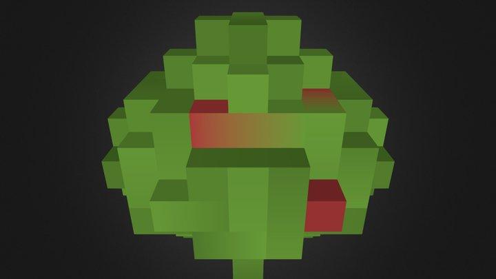 SmallBerryBushWithNoise_2 3D Model