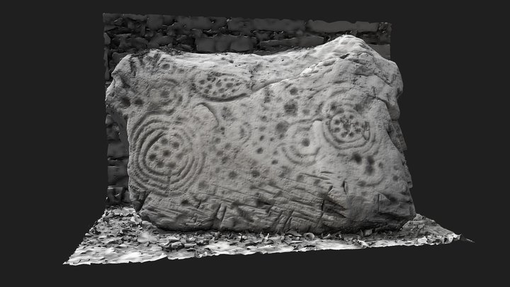 Furness Neolithic Rock Art, Naas, Co. Kildare 3D Model