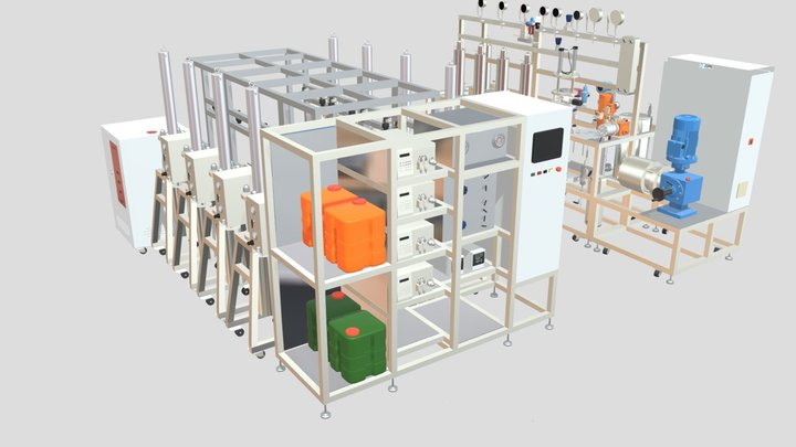 Jope Tech_Model C 3D Model