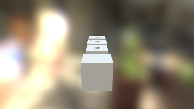 Cableholders 3D Model
