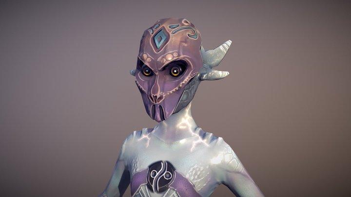 ALBIREO | Astral Might 3D Model