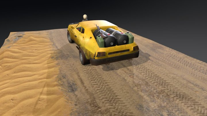 MAD MAX SCOUT 3D Model