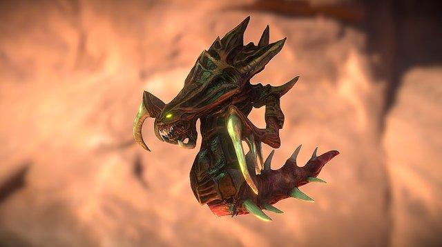 刺蛇 3D Model
