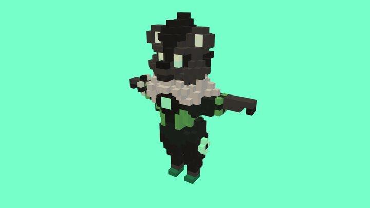 Panda.Villager v3 3D Model