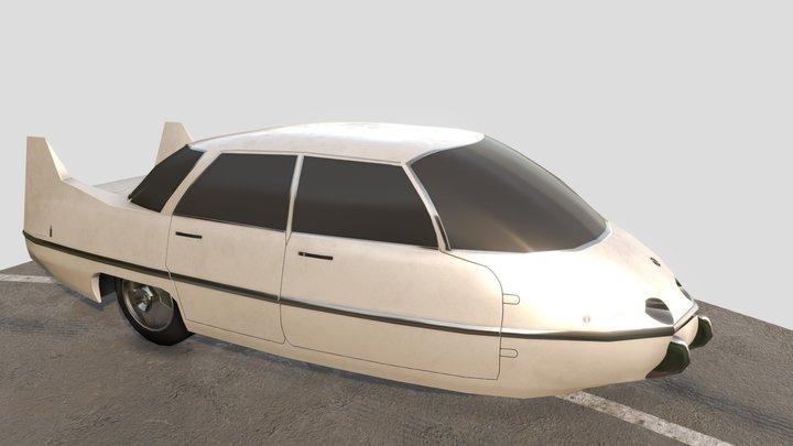 Pininfarina X 1960 3D Model