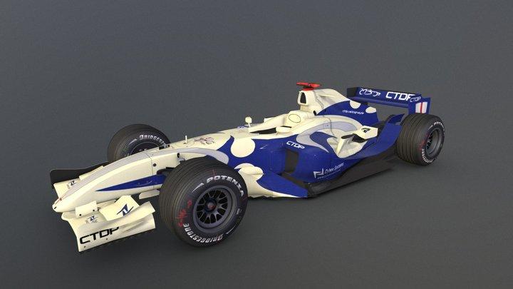 Team St. George TSG-01 (2006) 3D Model