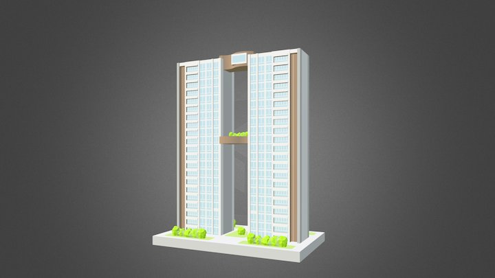 The Panorama Condo Miniature 3D Model