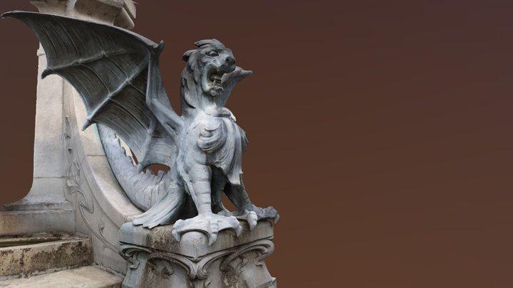 Dragon at Drakenfontein, 's Hertogenbosch 3D Model