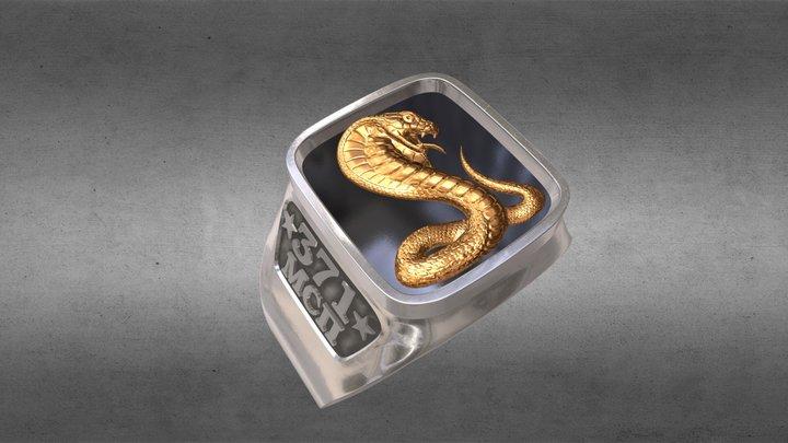 Ring Cobra 3D Model