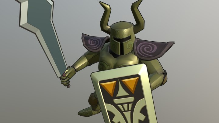 Phantom Knight - The Legend of Zelda 3D Model