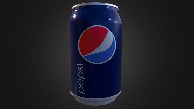 Pode ser uma Pepsi 3D Model