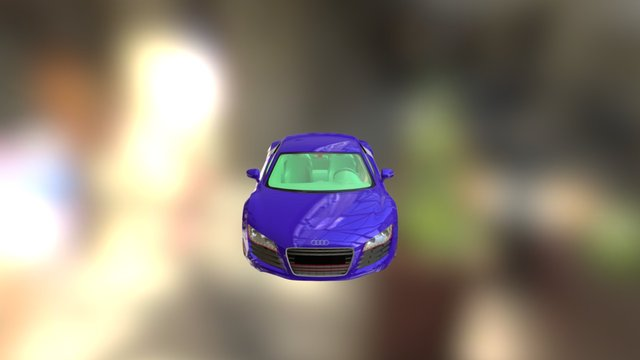 Audi R8 Optimo 3D Model