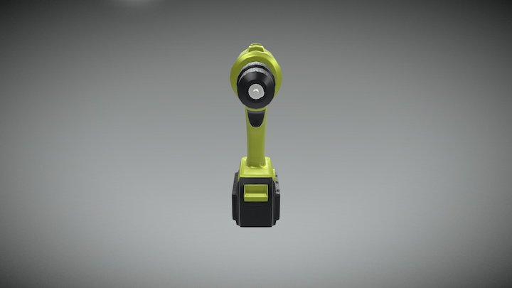 Drill LOD B 3D Model