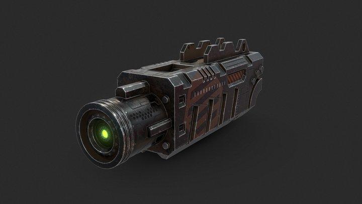 Lazer Module 3D Model