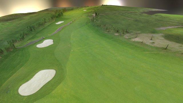 Golfplatz 3D Model