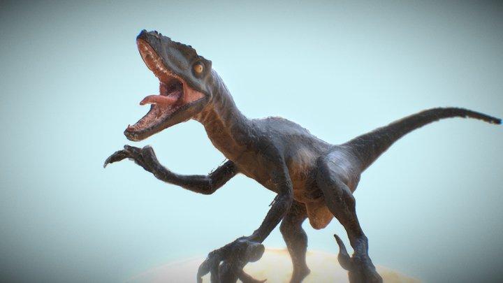 ZDF Digital Dinosaurier 3D Model