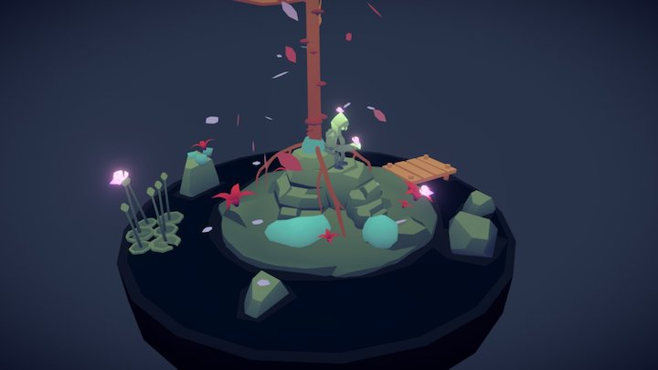 peacefull place 3D Model