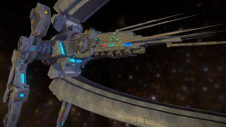Luna cruiser 3D Model