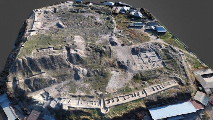 ancient Shymkent general view 3D Model