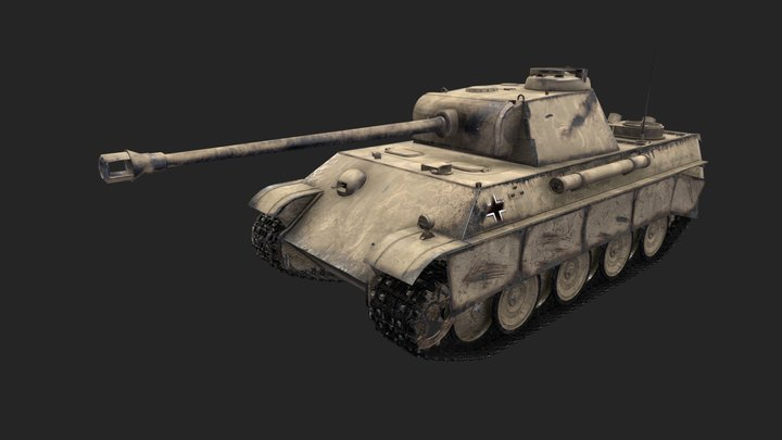 Panther G 3D Model