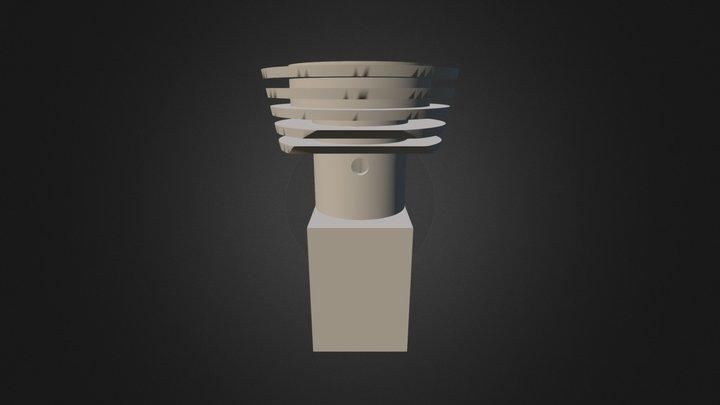 Carter Micromoteur 3D Model