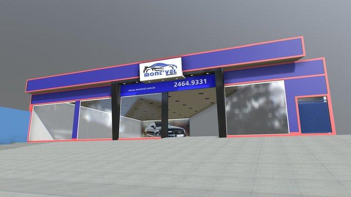 Fachada Mont Vel 3D Model