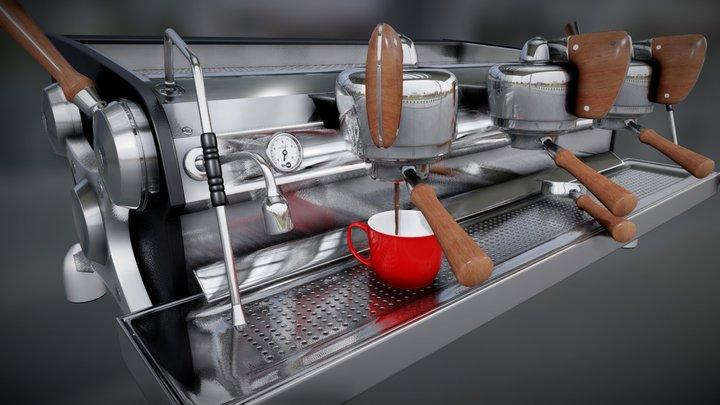 Slayer Espresso Machine 3D Model 3D Model