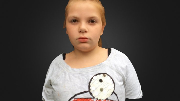 Ashley 3D Model
