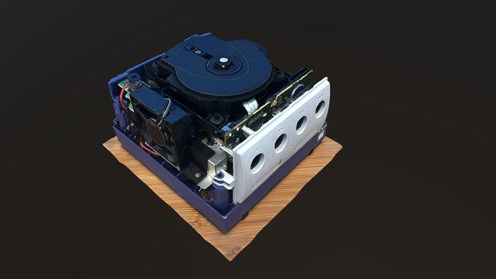 Inside of an nintendo gamecube (photogrammetry) 3D Model