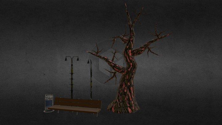 Props02 - War Calls 3D Model