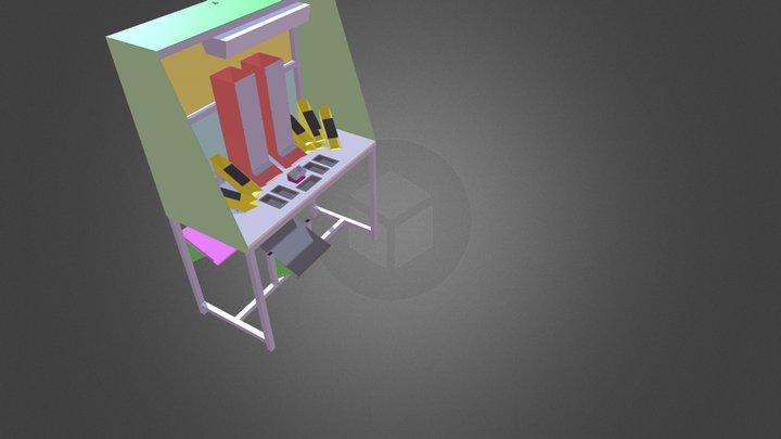 POSTE DE TRAVAIL  DEBORA IDTIM 3D Model