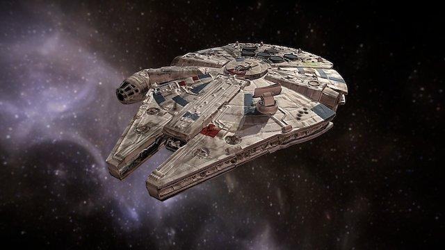 Star Wars Millennium Falcon 3D Model