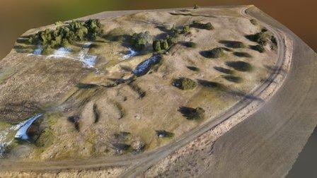 Valsgärde burial ground 3D Model