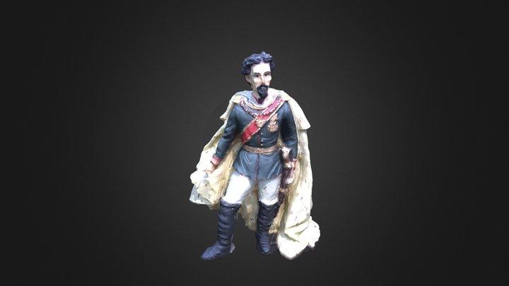 Bavarian King 3D Model