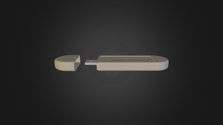 the pendrive the first 3D Model