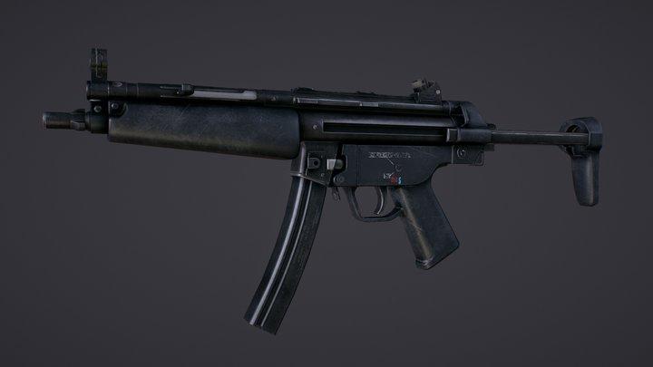 HK MP5 (dimensional prototype) 3D Model