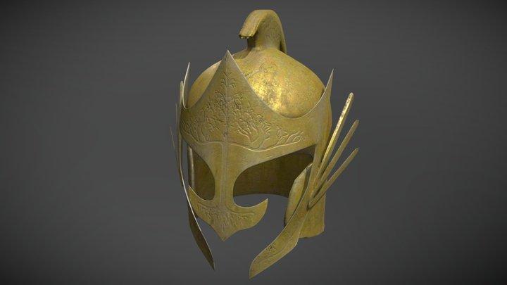 Elven Helmet 3D Model