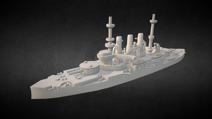 Pre- Dreadnought Potemkin- Panteleimon 3D Model
