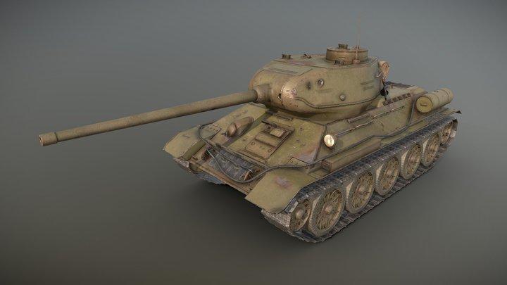 "T-34 ""Intrepid"" 3D Model"