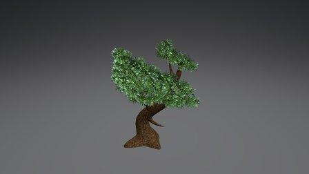 Stylized Tree 02 3D Model