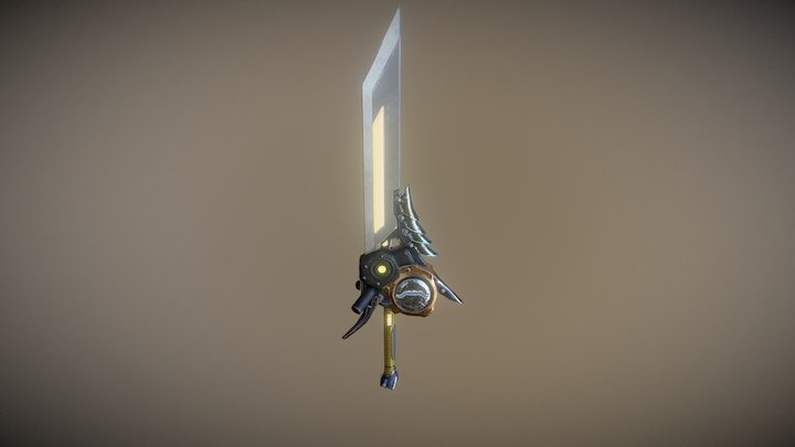 Buster Sword 3D Model