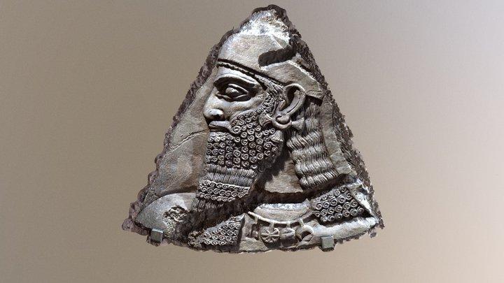 Assyrian relief fragment 3D Model