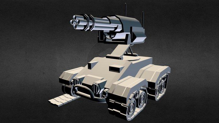 Xcom SHIV 3D Model
