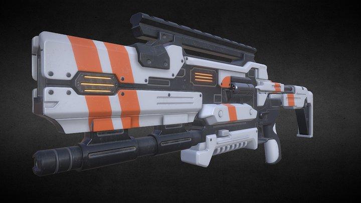 Pulse Shotgun 3D Model