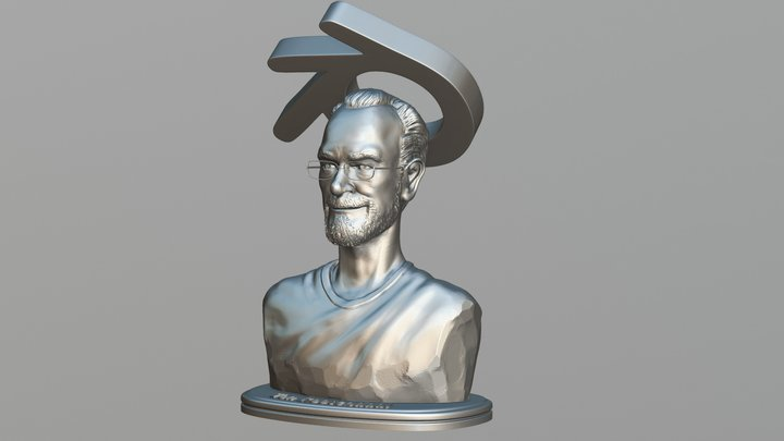Ton Roosendaal 3D Model
