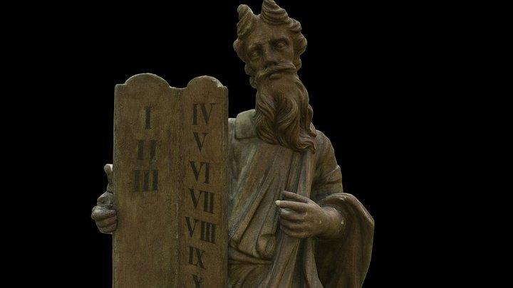 Moses, Martna church 3D Model