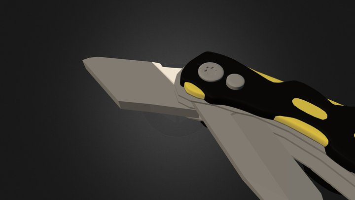 Saxo Hobbykniv 3D Model